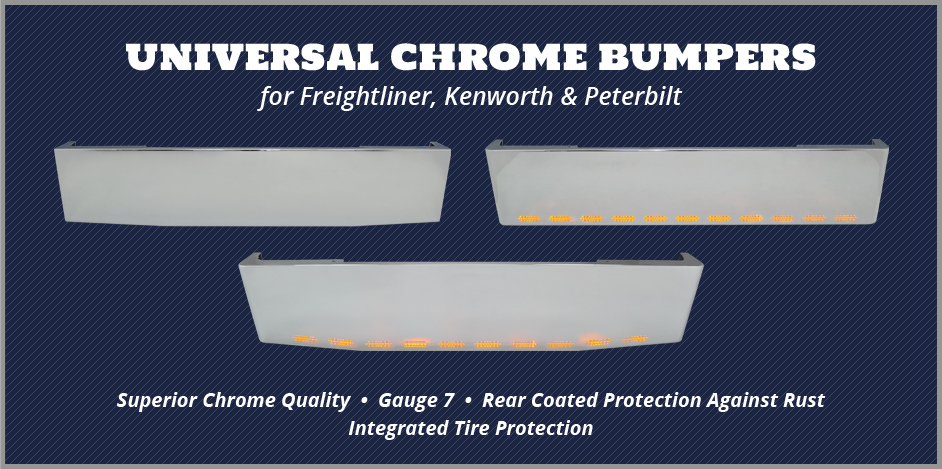 Universal Chrome Bumpers